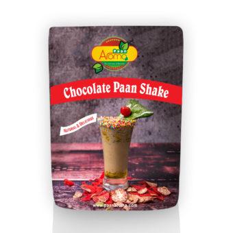 Chocolate Paan Shake