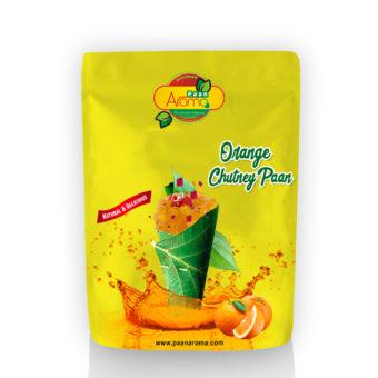 Orange Chutney Paan