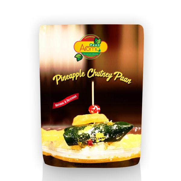 Pineapple Chutney Paan